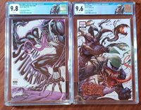 AMAZING SPIDERMAN #800 & VENOM #25 SET. GREAT COVERS WITH CUSTOM LABELS!