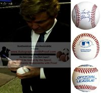Leigh Steinberg Autographed Rawlings ROLB Baseball, Sports Agent, Proof Photo