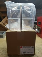 FEDERAL SIGNAL mini AeroDynic 2 panel CLEAR dome BRAND NEW! (4 available)
