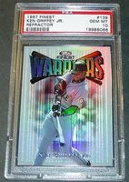 1997 Finest Refractor #139 Ken Griffey Jr PSA Gem Mint 10 POP 1/2