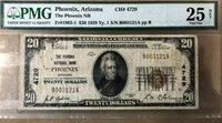 1929 $20 banknote, the Phoenix National Bank