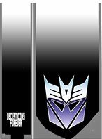 L@@K! Transformers Decepticon logo Neck Tie 80s