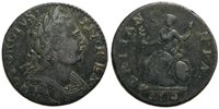 UK 1775 George III Non-Regal Farthing