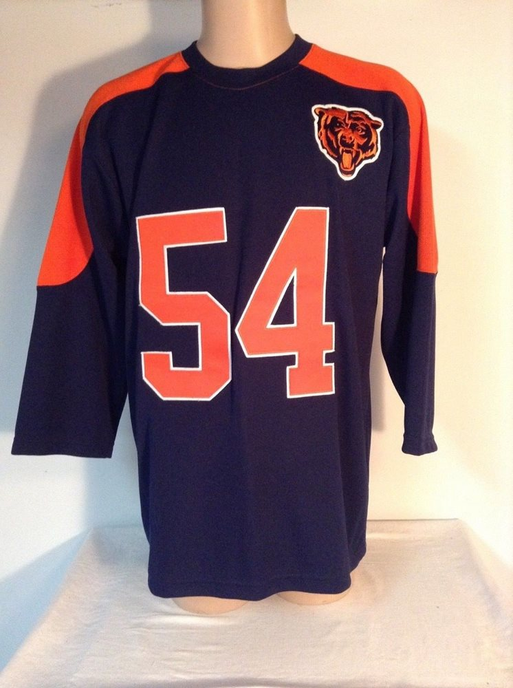 separation shoes f307d b8c30 Vintage BRIAN URLACHER CHICAGO BEARS Mens NFL Team Stitched Sweater JERSEY  Large