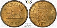 1926 Greenland Krone PCGS MS 64