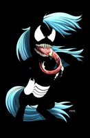 My Nightmarish Little Venomous Ponies - Jacob Bear - Virgin Negative Variant