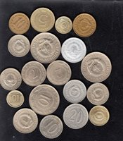 19 YUGOSLAVIA DIFFERENT COINS, DIFFERENT YEARS