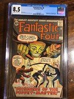 Fantastic Four #8 CGC 8.5 VF+ Universal CGC