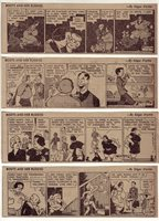 Boots and Her Buddies by Martin - 27 daily comic strips - Complete January 1952