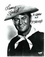 "Larry Storch -- "" F-Troop "" -- item # 1820 B/W 8x10 S/P ""Cpl Agarn"" Head and shoulders"