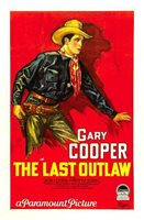 OLD MOVIE PHOTO The Last Outlaw Poster Gary Cooper Style A Poster 1927