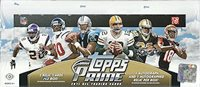 2011 Topps Prime Football box (10 pk HOBBY)
