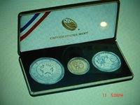 2015 US Marshal 225th Anniversary 3 coin gold set US MINT COINS +2 Free coins