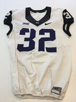 on sale 163a5 702a1 Game Worn Used Nike TCU Horned Frogs Football Jersey #3