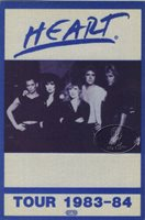 HEART 1983-84 PASSIONWORKS TOUR BACKSTAGE PASS AA