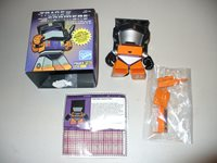 Orange The Loyal Subjects Series 3.5 100/% Complete Transformers Scrapper