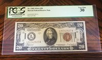 PCGS VF30 1934 Hawaii Federal Reserve Note $20
