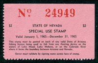 Wooton 15 1965 $2 black red on pink mint, NH, VF
