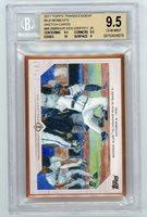 Ken Griffey Jr 2017 Topps Transcendent MLB Moments Sketch Card 17/87 - BGS 9.5