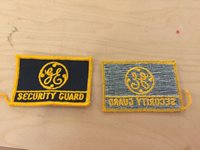 vintage 70/'s new old stock nyu medical center security,patch