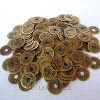 Collection 200 Pcs China Bronze Coin Old Dynasty Antique Currency sent at random