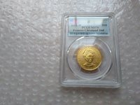 2012 W $10 GOLD 1/2 oz FRANCES CLEVELAND 2ND FIRST SPOUSE PCGS MS70 FIRST STRIKE