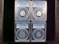1935 Alaska R.R.C. Bingles. Complete Set of 8 1c thru $10 all PCGS Nice Set.