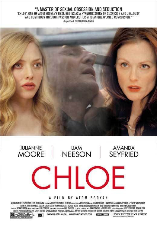 CHLOE Movie POSTER 27x40 C Amanda Seyfried Julianne Moore Liam Neeson Nina.  Click To Enlarge 4dabfe418733