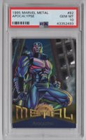 1995 Marvel Metal Trading Card #82 Apocalypse