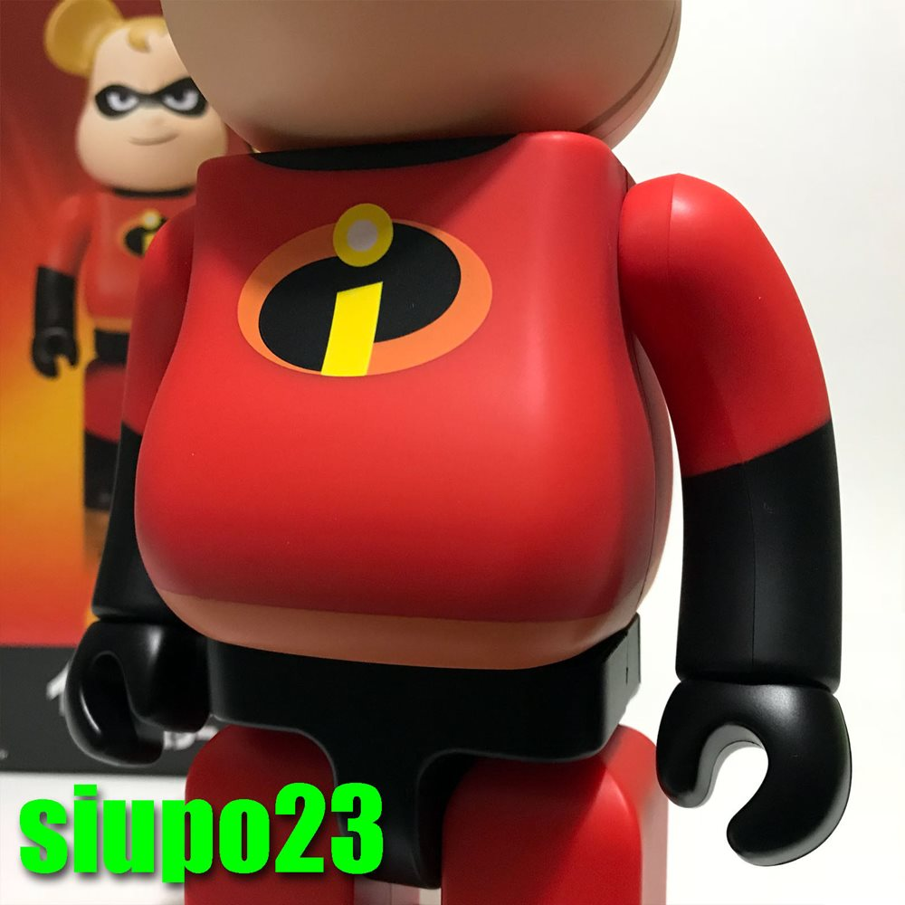 Medicom 400/% Bearbrick ~ Disney Pixar Mr Incredible Be@rbrick