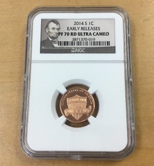 2019 W 1C Lincoln Cent Reverse Proof NGC PR69 Early Releases