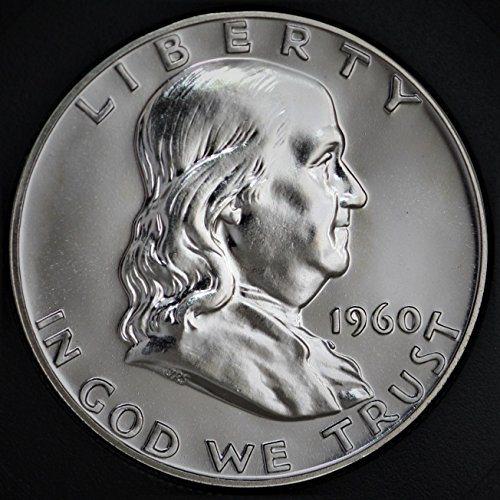 Better date 1960-P  Franklin Silver Half Dollar