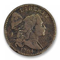 1794 1C Head of 1794 Sheldon 38 Liberty Cap Denticled Border PCGS MS97BN