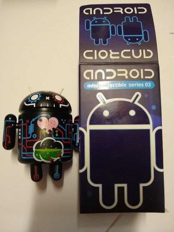 Android Mini Collectible Figure Series 03-8 Ball Hustler by Google