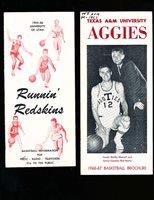 1955 Utah University Basketball Press Media Guide (only listed)