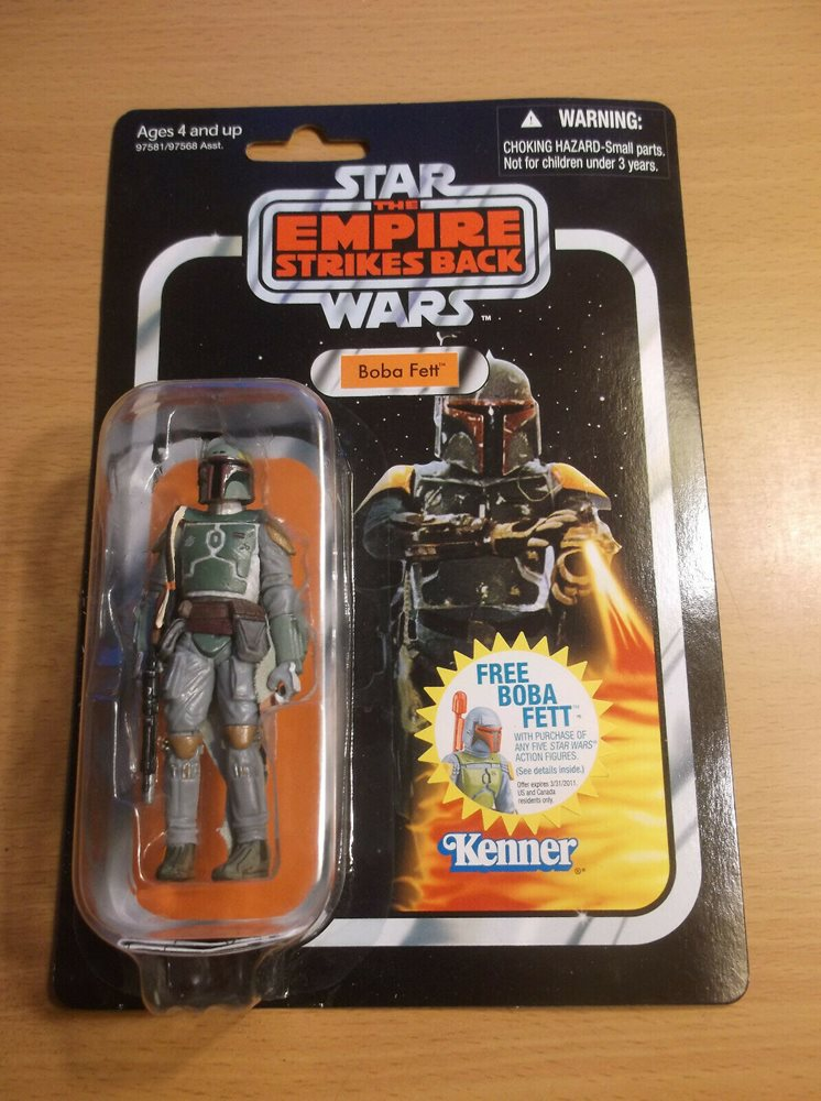"Star Wars Vintage Collection BOBA FETT 3.75/"" Figure VC09 Empire Strikes Back"