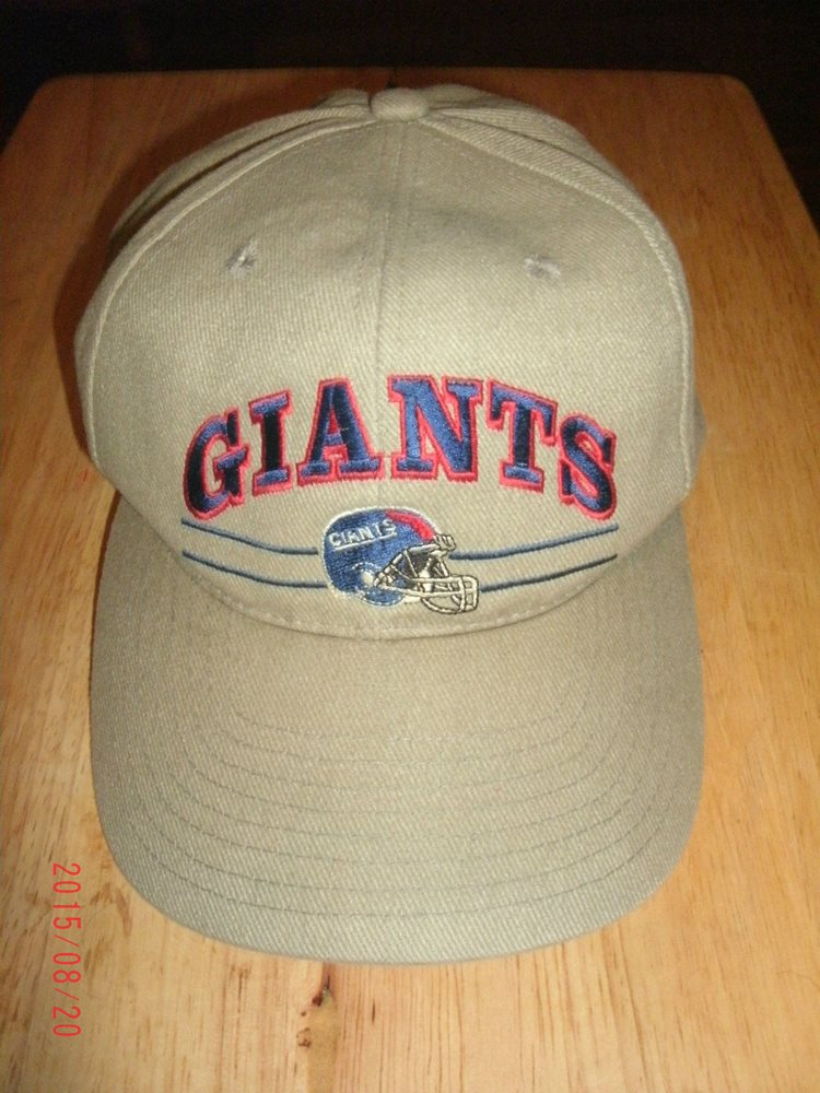 best website cb42f 0c2c1 NFL Vintage New York Giants Cap Hat Free Shipping! Click To Enlarge