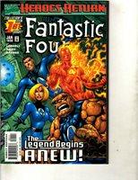 Lot of 12 Fantastic Four Marvel Comics # 1 2 3 4 5 6 7 8 9 10 12 13 JF24