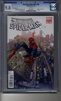 Amazing Spider-Man # 700 - CGC 9.8 White Pages - Death of Peter Parker - Cover D