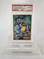 Pokemon Blastoise EX Full Art Japanese 1st Edition 20th Anniversary #92 PSA 10