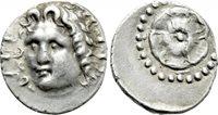 Drachme Circa 88/42 Bc-ad 14 Griechen Caria Rhodes Drachm Silver