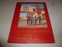 VINTAGE MARINE CORPS RECRUIT DEPOT SAN DIEGO CALIFORNIA MILITARY YEARBOOK 3053 >