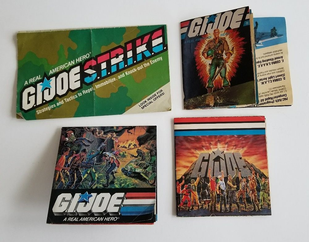 Vintage GI Joe Pamphlet Order form Lot of 4 on pa forms, rca forms, pca forms, dual forms,