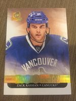 ZACK KASSIAN RC 2011-12 UPPER DECK THE CUP GOLD PARALLEL #19/25 RARE CANUCKS