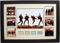 Beatles – Signed by John, Paul, Ringo and George