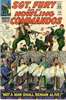 SGT. FURY AND HIS HOWLING COMMANDOS #28 1966