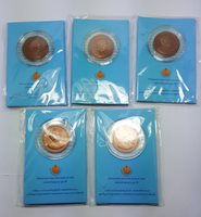 SET 5 ; 2012 NICE COINS OF QUEEN SIRIKIT ,CELEBRATE BIRTH DAY 80TH YEARS IN 2012