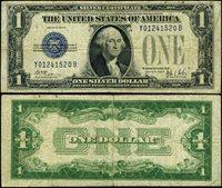 FR. 1602 $1 1928-B Silver Certificate Experimental Y-B Block Fine+
