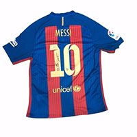 LIONEL MESSI AUTHENTIC SIGNED 2016-17 SOCCER JERSEY PSA/ DNA/ ITP LOA LOA 6A70563