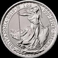 2019 1 oz Silver Britannia
